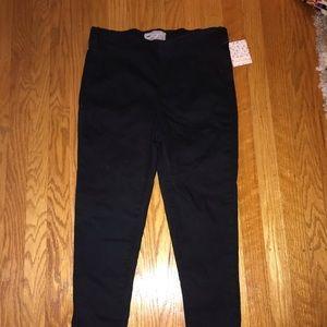 Free People, pull on black skinny jeans